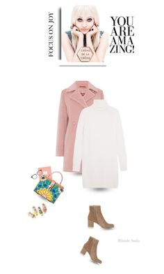 """I AM . Two of the most powerful words"" by blonde-bedu ❤ liked on Polyvore featuring MaxMara, Rosanna, Equipment, Gianvito Rossi and Victoria Beckham"