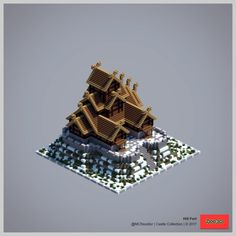 Post with 113598 views. Construction Minecraft, Minecraft Building Guide, Minecraft Castle, Minecraft Medieval, Minecraft Plans, Minecraft Tutorial, Minecraft Blueprints, Minecraft Creations, How To Play Minecraft