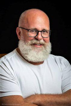 whiskHAIRs — Steve Freitag by George Petropoulos of Petro G. Moustache, Beard No Mustache, Grey Hair Old Man, Bald Black Man, Bald With Beard, Black Men Beards, Santa Beard, Beard Rules, Bald Hair