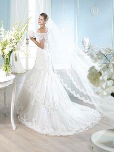 HARMAN | Wedding Dresses | Costura 2014 Collection | San Patrick (back)