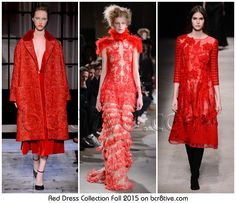 Red Dress Collection Fall 2015