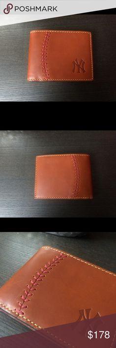 7fb9c07d94c5 DOONEY & BOURKE | Yankees Men's Wallet Material: 100% Leather Measures  approximately 3.5