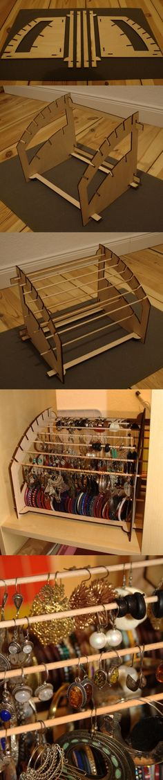Under Bed Gift Wrap Storage . Under Bed Gift Wrap Storage . Diy Adorable organizer Box Useful Ever 32 Partment for Jewellery Storage, Jewelry Organization, Jewellery Display, Diy Jewelry, Jewelry Rack, Jewellery Holder, Jewellery Stand, Earring Display, Cardboard Crafts
