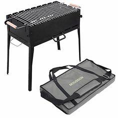 Berndes BBQ Grille de barbecue en acier inoxydable 37 x 21