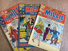 Millie the Model 68-73 9 Issue Humor Comic Lot/Mixed Readers    | eBay
