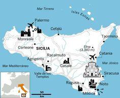 Las maravillas de Sicilia en siete días apasionantes Catania, Palermo, Costa Amalfi, Sicily Travel, Move Your Body, Mediterranean Sea, Eurotrip, Sardinia, Vacation Spots