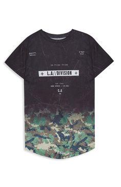 8971d86775137 Older Boy Graduated Camo T-Shirt