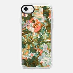 FLORAL FANTASY, PEACH GREEN, By Artist Julia Di Sano, Ebi Emporium on Casetify, #Casetify #EbiEmporium #CasetifyArtist #pink #floral #flowers #spring #spring2018 #girly #pastel #green #olive #boho #bohemian #peach #orange #blooms #iphonecase #iphone6 #iphone7 #iphone8 #iphonex #iphone6plus #iphone7plus #iphone8plus #samsung #want #musthave #girly #summer #pretty #tech #painting