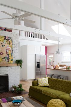 A Vibrant Playful Home for a Creative Family in Indianapolis