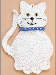 Ravelry: Snowball the Cat by Marianne Bruneau