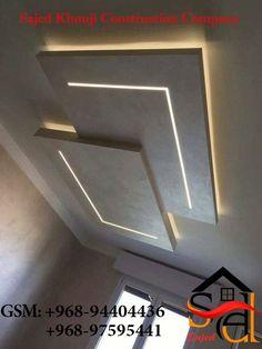 Simple Ceiling Design, False Ceiling Design, L Shape, Ceilings