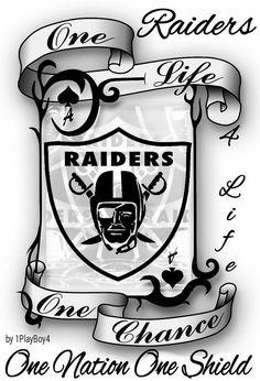 One Nation One Shield Oakland Raiders Logo, Okland Raiders, Raiders Vegas, Oakland Raiders Images, Raiders Pics, Raiders Stuff, Raiders Baby, Oakland Raiders Wallpapers, Raiders Tattoos