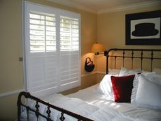 exterior view of plantation shutters - Google Search