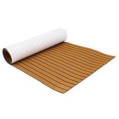 "EVA Faux Teak Deck Sheet For Boat Yacht 94.5/""x2/"" Flooring Mat #4"