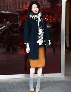 Streetstyle Paris Fashion Week Herbst/Winter 2014-2015