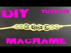 DIY - Tuto Bracelet Fantaisie en Macramé - YouTube