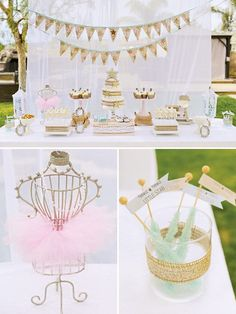 Could modify for other events:  twinkle twinkle little star baby shower dessert table