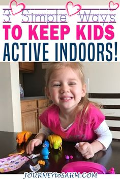 Getting your kids up and moving is important at any age. We live in a world where children as young as 1 can be glued to their tablets, televisions, phones, and more. Although the AAP now allows for some screen time for toddlers, it's so important to find ways to keep your child away from technology! Check out these 3 Fun Ways to Keep Your Kids Active Indoors too! | Journey to SAHM @journeytoSAHM #spon #cepiallc #funthingstodoforkids #indooractivitiesforkids #coldweatheractivites… Rainy Day Activities For Kids, Fun Games For Kids, Fun Activities, Best Blogs, Mom Blogs, Health And Physical Education, Kids Up, Mom Advice, Inspiration For Kids