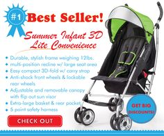 Have you checked out the best selling umbrella stroller of today? Take a peak now, before it's gone!