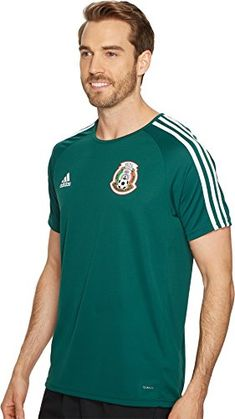 adidas-Mens-Mexico-Home-Fan-Shirt-Collegiate-GreenWhite-X-Small-0 24de60210cc34