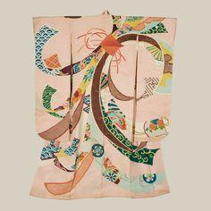 Tabane-Noshi Furisode | Japan, Meiji to mid-Taisho (1880-1920)
