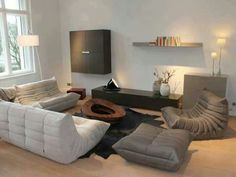 Ligne Roset store in Postdam Germany, featuring my favorite: the Togo collection!