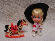 Little Kiddle. I loved that rocking horse!