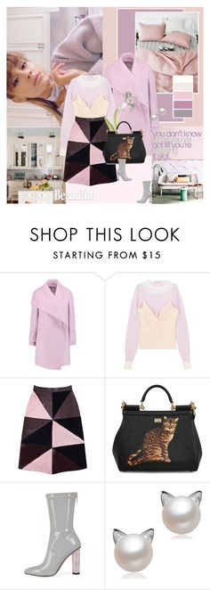 """""""Stay lovely"""" by giko-is-giantsister ❤ liked on Polyvore featuring Vince, J.W. Anderson, Florence Bridge and Dolce&Gabbana"""