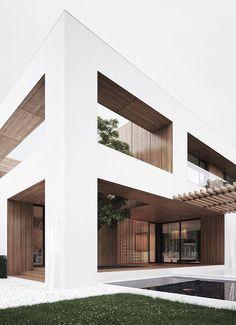 Super Ideas For House Architecture Design Modern Architecture Durable, Residential Architecture, Amazing Architecture, Contemporary Architecture, Interior Architecture, White House Architecture, Minimal Architecture, Commercial Architecture, Gothic Architecture