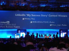 """VALVE SOLUTIONS B2B digital marketing business model was a winner at Linkedin B2B Connect 2012 """"My Success Story Contest"""" This has given us global recognition!"""
