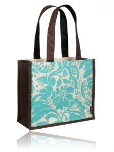 Cluster Bag (Teal/Brown)