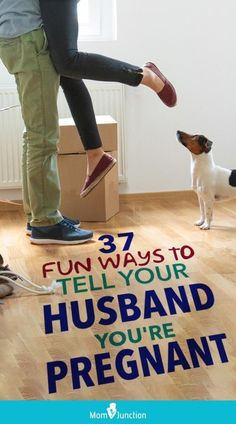 37 Fun Ways To Tell Your Husband You're Pregnant : Did you just have your pregnancy test which appeared positive? Check out creative ways to announce pregnancy to your husband! #relationship #relation #relationships Surprise Pregnancy, Second Pregnancy, Pregnancy Care, Announce Pregnancy, Pregnancy Videos, Pregnancy Belly, Surprise Baby, Early Pregnancy, Pregnancy Humor