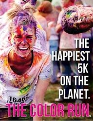 My goal is to be able to run a 5K and The Color Run is exactly the kind of 5K I want to do!