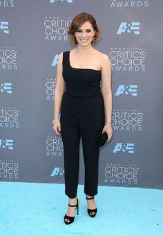 Rachel Bloom in Alexander McQueen jumpsuit - The 21st Annual Critics' Choice Awards - January 17, 2016