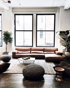 Perfect Industrial Living Room Decor Ideas — Home Design Ideas Living Room Inspiration, Interior Inspiration, Design Inspiration, Interior Ideas, Kitchen Inspiration, Home Interior, Interior Architecture, Interior Livingroom, Interior Modern