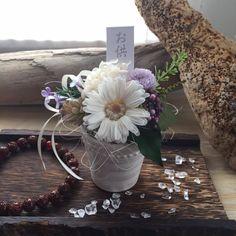 お悔やみ・お供え花 涼華|【すてきプリザーブドフラワー・アトリエブルーミング】おしゃれプレゼント|きれい人気花|茨城水戸日立|好評贈り物|枯れないバラ|人気仏花|ねこ|かわいい