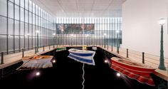 Works: Port of Reflections(2014) - Leandro Erlich