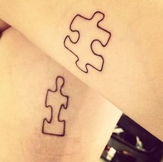 Pin for Later: The Ultimate Celebrity Tattoo Gallery Malin Akerman Malin Akerman and her friend got matching puzzle piece tattoos.