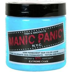 EDITED Manic Panic For Polyvore ❤ liked on Polyvore featuring fillers, hair, makeup, hair dye and hair stuff