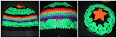 Fast, and fun pattern. Whip one up for the Alien enthusiast in you life. Instructions are included for a lining to keep warm when visiting t...