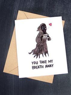 Harry Potter Valentines Card
