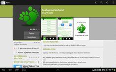 Op stap met de hond...app androïd