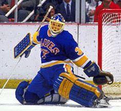 Rick Wamsley Hockey Goalie, Hockey Teams, St Louis Blues Goalies, Hockey Rules, Vancouver Canucks, Nhl, Long Live, Sticks, Sports