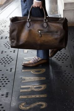 30 Most Hottest Leather Travel Bags These Days - Canvas Bag Leather Bag CanvasBag.Co