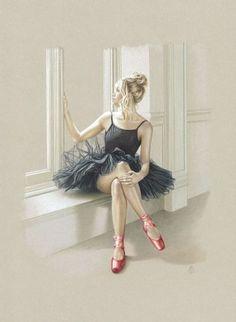 New Music Arte Work Pictures Ideas Ballerina Kunst, Ballerina Painting, Ballet Art, Ballet Dancers, Ballerinas, Ballerina Silhouette, Dancing Drawings, Dance Paintings, Work Pictures