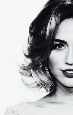 Miley Cyrus in Black and White #freemileytix