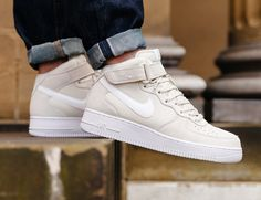 Nike Air Force 1 mediana 07 'Off White