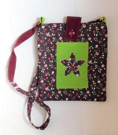 Tote bag, Handbag for women, Shoulder bag, Cross body bag, Floral tote for her, Hippie book tote, Birthday Boho gift ideas, Cute summer bag. by handmadebystrawb on Etsy