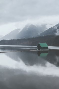 Capilano Lake II ➾ Luke Gram