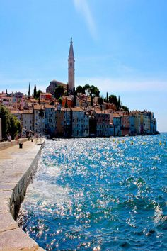Postcard views of Rovinj, Croatia